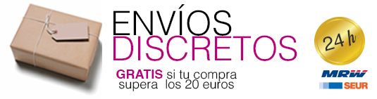 sex shop envíos discretos