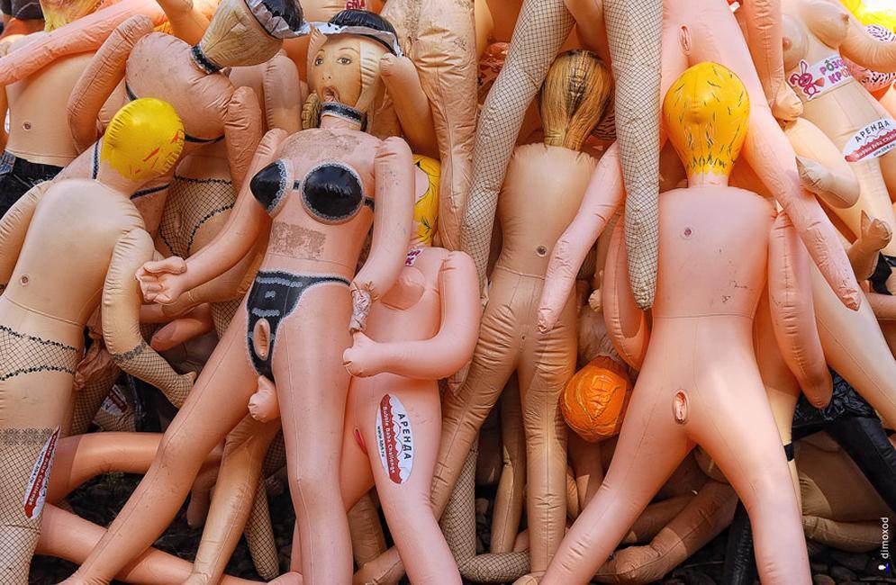 muñecas hinchables
